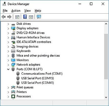 Full device manager