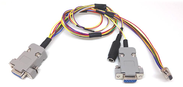 IMU-P dual port data cable