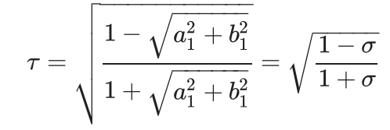 Long crestedness parameter