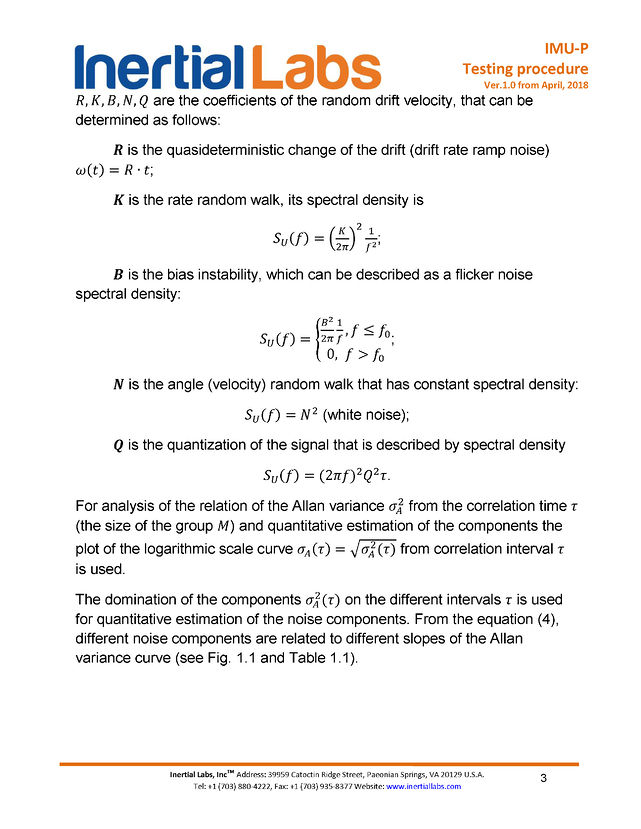 Testing procedure page 3