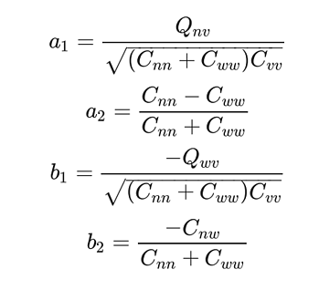 Wave fourier coefficients