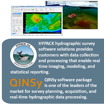 HYPACK and QINSY Software Packages
