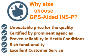 Pros of GPS-Aided INS-P