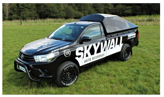 SkyWall Auto Response Vehicle