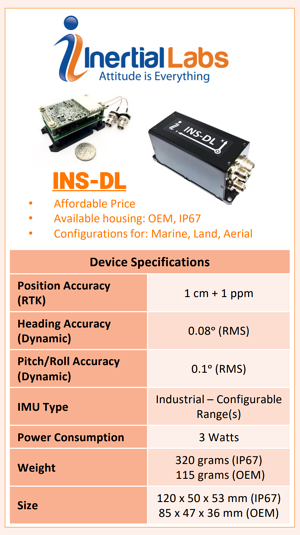 INS-DL Device Specifications