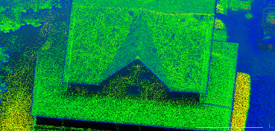 LiDAR Point Cloud Close Up