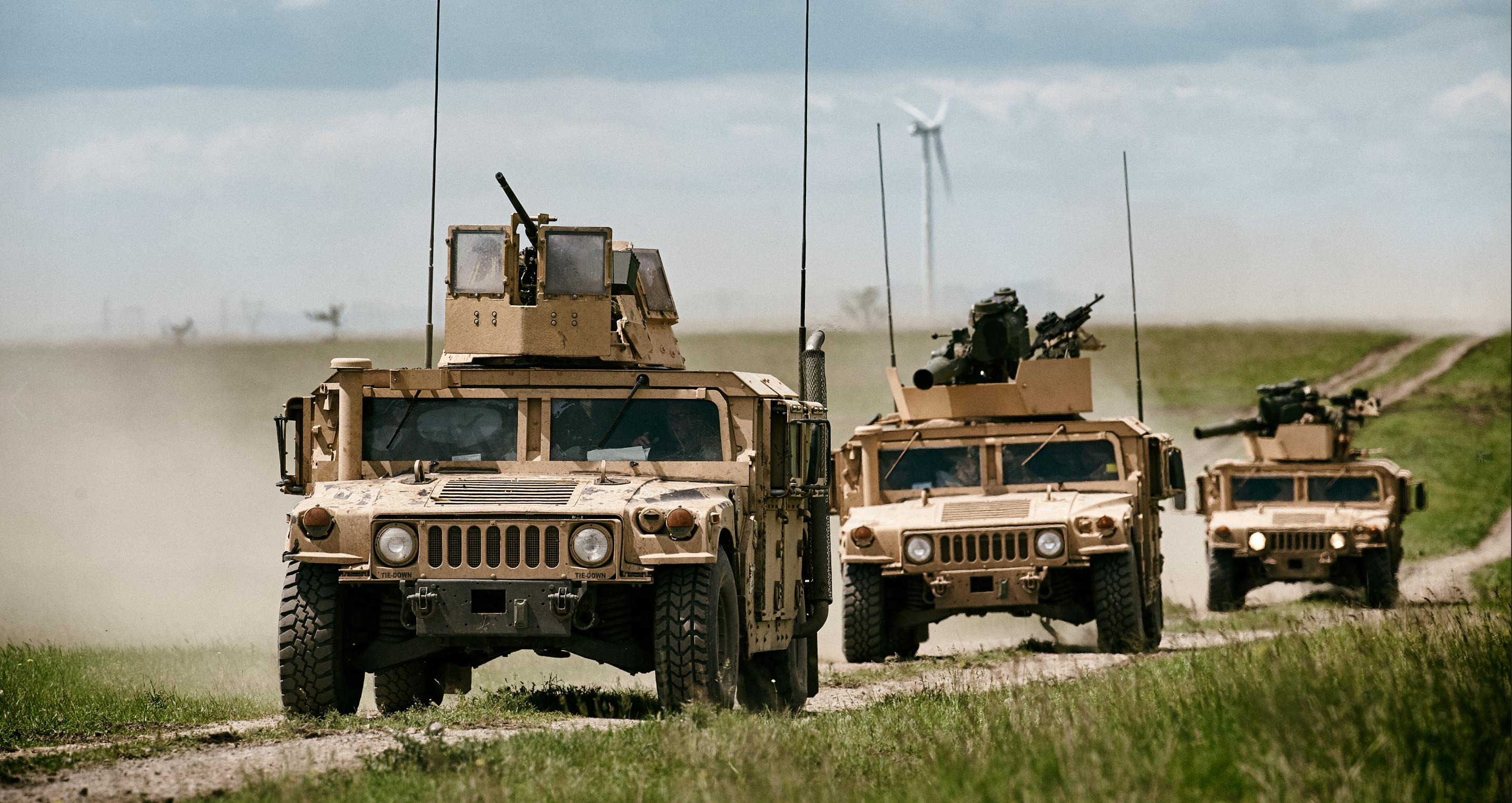 Caravan Military Convoy