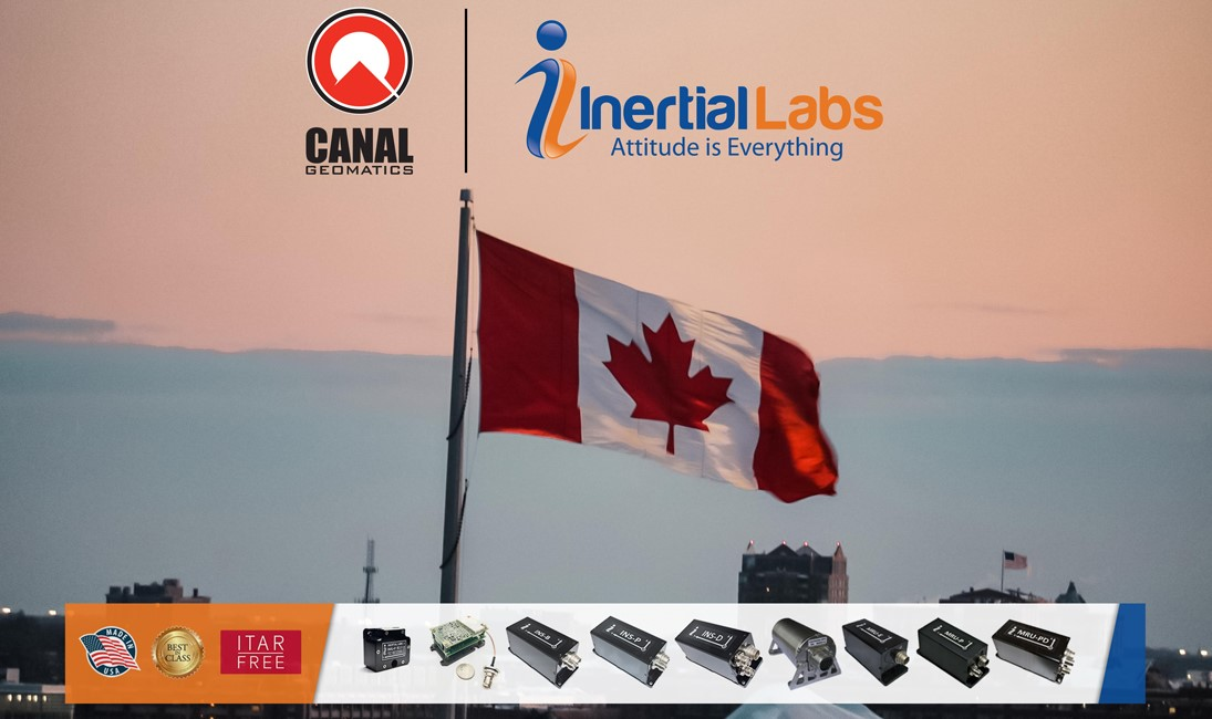 Inertial Labs and Canal Geomatics